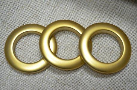 Люверсы круглые 35 мм, золото матовое недорого