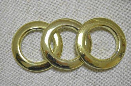Люверсы круглые 35 мм, золото арабское недорого
