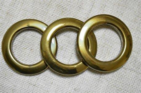 Люверсы круглые 35 мм, антик металлизация недорого