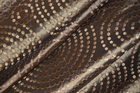 "Тафта ""Спираль"" коричневая недорого"