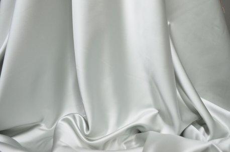 """Портьера """"Сатин"""" светло серый недорого"""