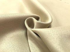 Шторная ткань Блекаут нежно-коричневого (орехового) цвета