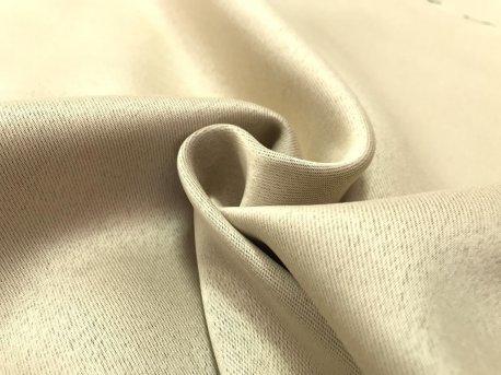 Шторная ткань Блекаут нежно-коричневого (орехового) цвета недорого