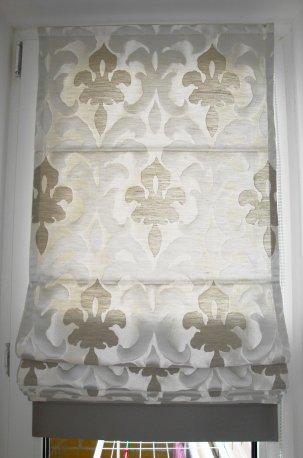 """Римская штора из ткани """"Messaline"""" недорого"""