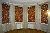 Римские шторы на подкладке