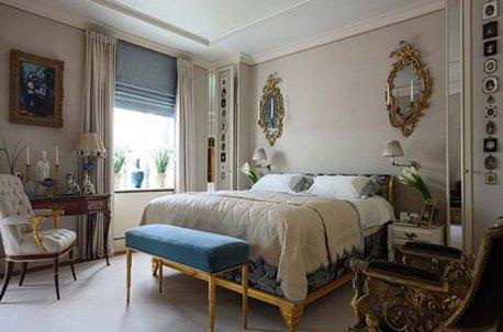 Римская штора на окне в спальне недорого
