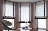 Римские шторы в кабинете