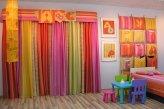 Яркий радостный комплект штор в детскую комнату