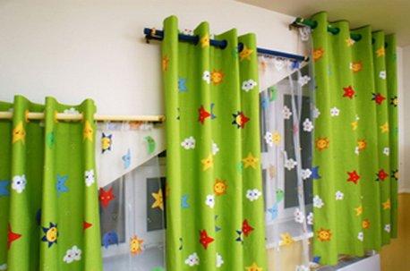 Шторы в детскую со скошенными окнами недорого