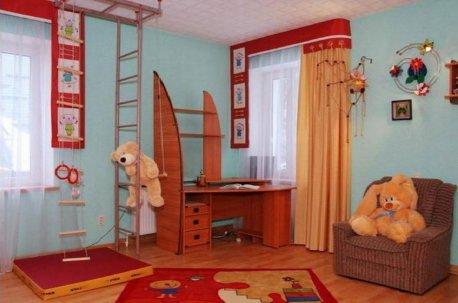 Авторский дизайн штор в детской комнате недорого