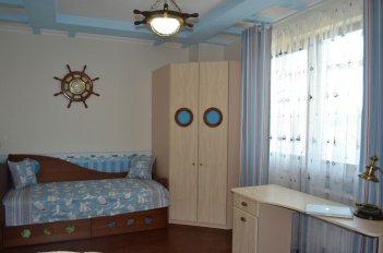 Подростковая комната в морском стиле