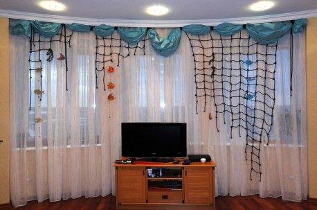 Ламбрекен в детской комнате недорого