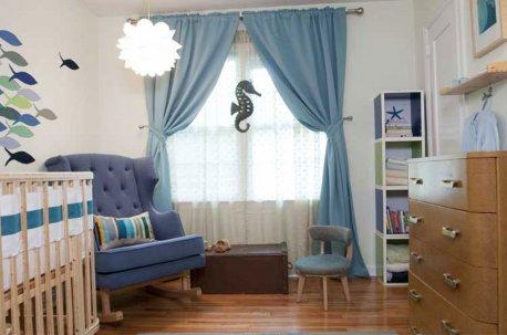 Детская комната в морском стиле недорого