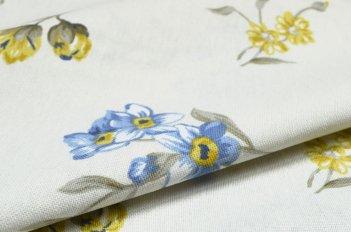 """Портьера """"Стелла коорд"""" голубая"""