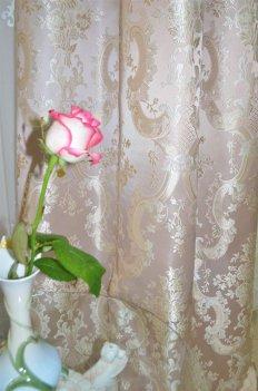 """Портьера """"Экселент"""" чайная роза"""
