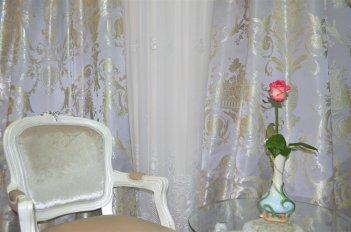 """Портьера """"Лацио"""", цвет дымка"""