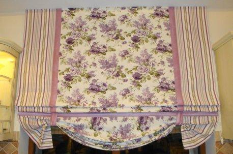 Римская штора в стиле прованс недорого
