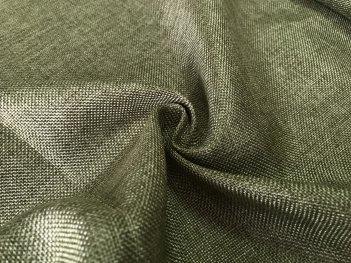 Рогожка насыщенно-зеленого цвета