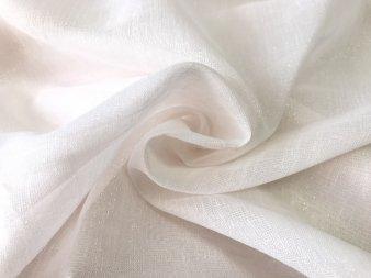Тюль сеточка с блеском нежно-розовая