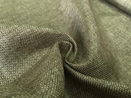 Рогожка насыщенно-зеленого цвета недорого