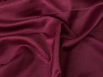 Портьера мягкий Сатин винного цвета