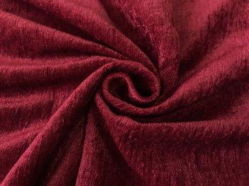 Портьера Шаниль тонкий бордовый