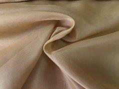 Тюль Вуаль темно-горчичного цвета