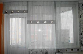 Японские шторы в комнате подростка