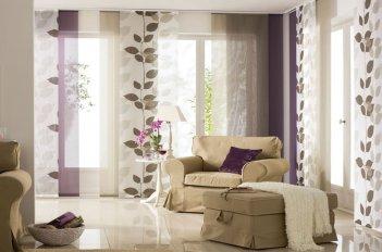 Японские шторы бежевого цвета